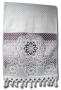 НОВИНКА    Махровое полотенце для лица, бордовое, 90х50 см.