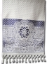 НОВИНКА    Махровое полотенце для лица, фиолетовое, 90х50 см.