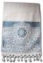 НОВИНКА    Махровое полотенце для лица, аквамарин, 90х50 см.
